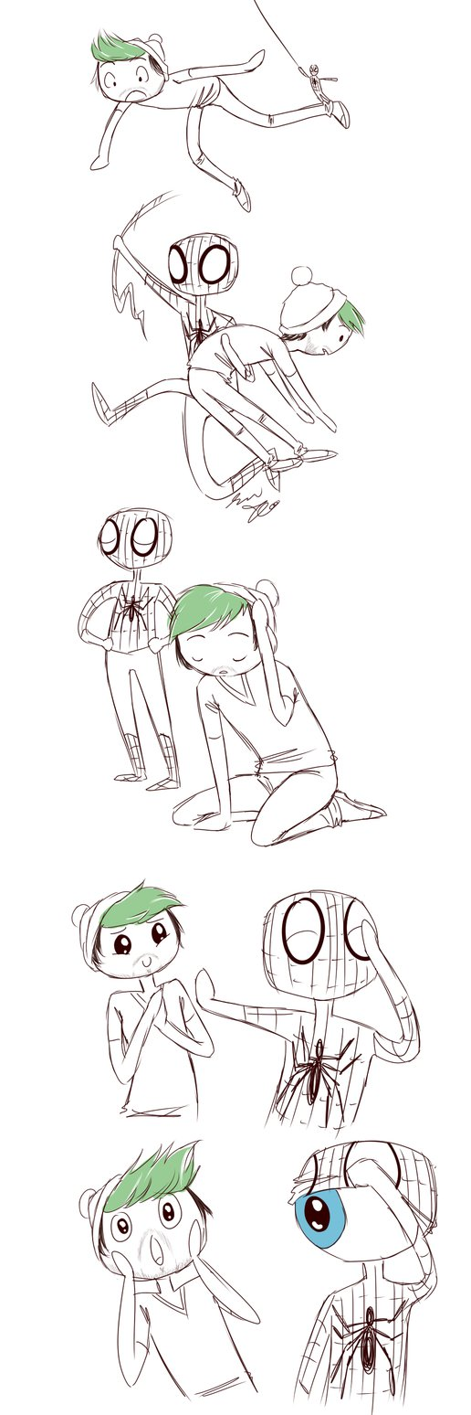 jacksepticeye Saved by... by AndrogynousOne on DeviantArt