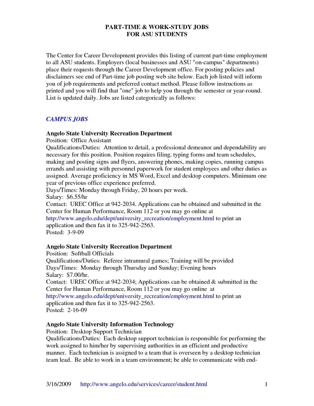 Resume Templates For 16 Year Olds Resume Resumetemplates Templates Resume Examples Job Resume Examples Resume Templates