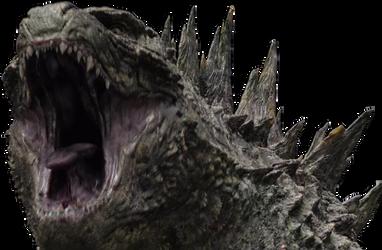 Godzilla 2014 Roar Render By Magarame Godzilla Godzilla 2014 Dragon Face