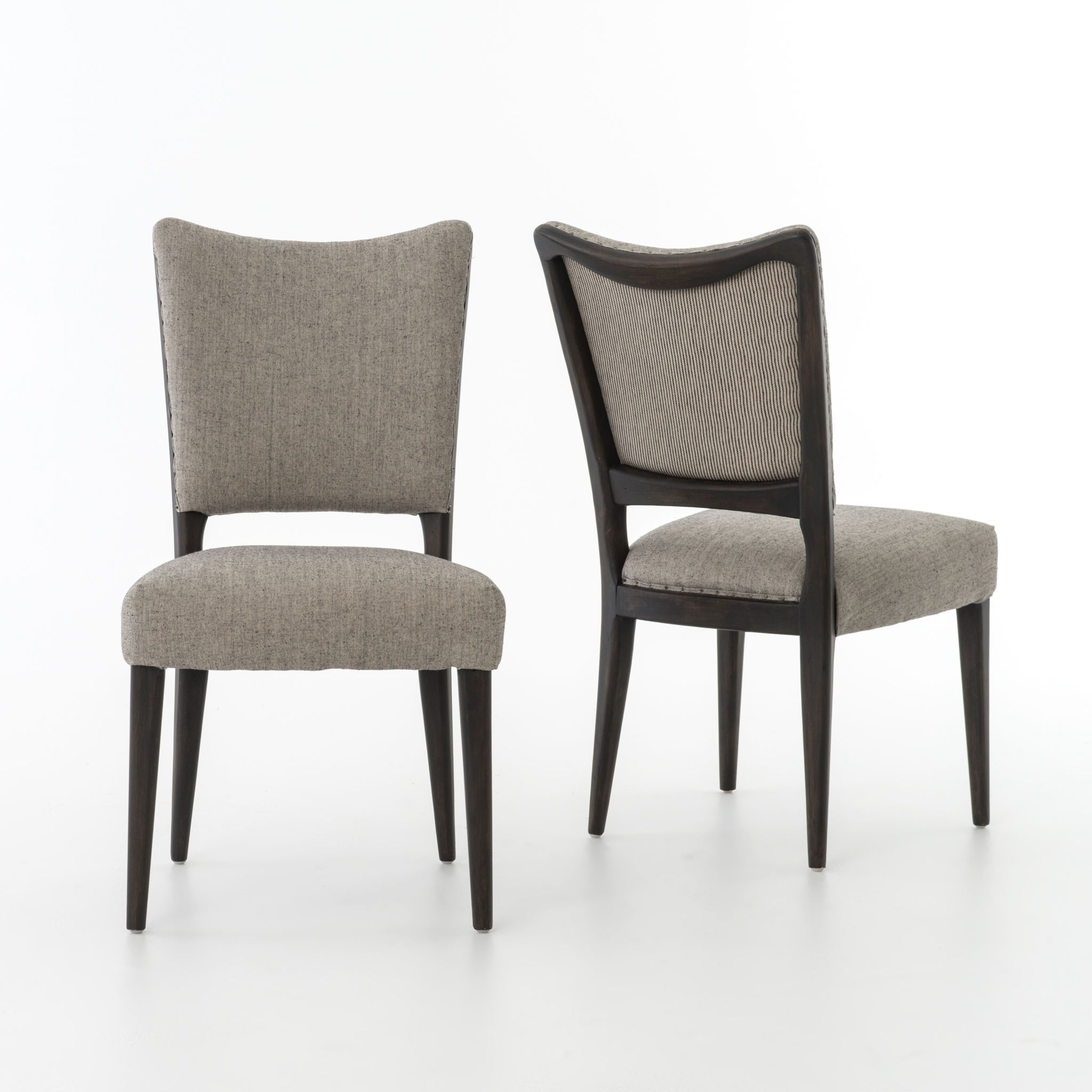 Kitchen Lennox Dining Chair-Ives White CABT-18A