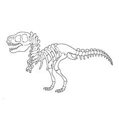 Dino Skelet Kleurplaat Google Zoeken Actividades De Dinosaurios Arte De Dinosaurio Dinosaurios Para Pintar