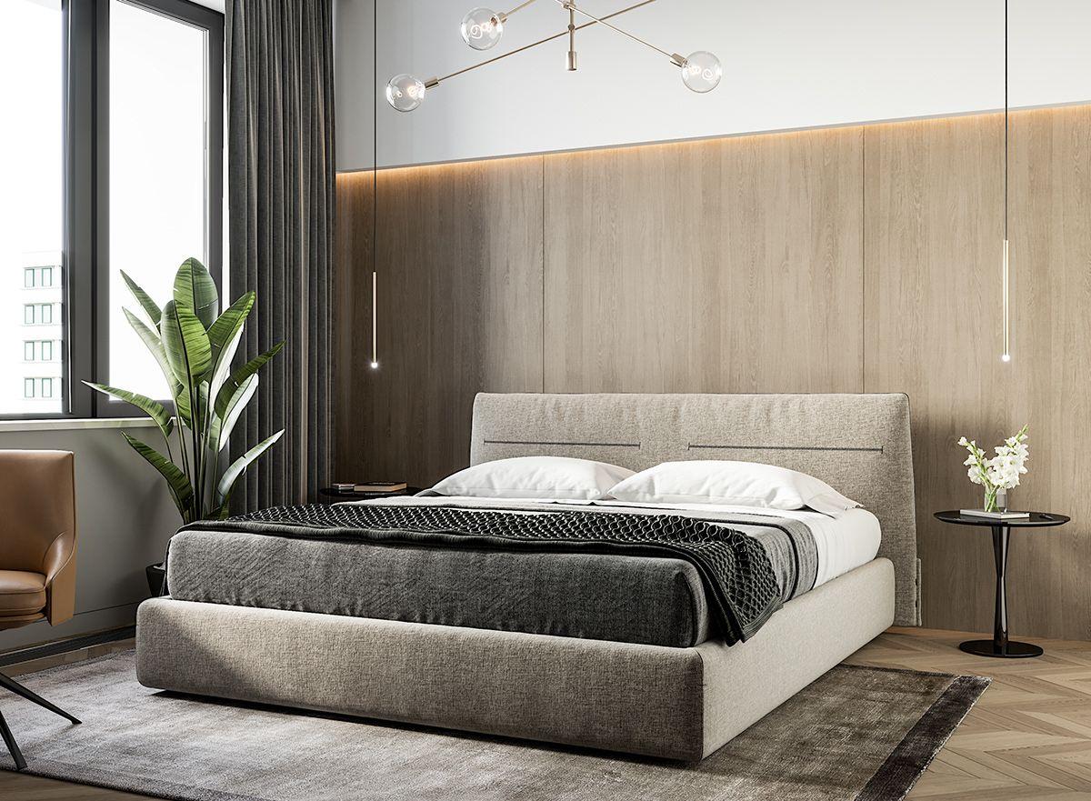 80 sqm on Behance | Bedroom design, Bedroom interior ... on Neutral Minimalist Bedroom Ideas  id=79829