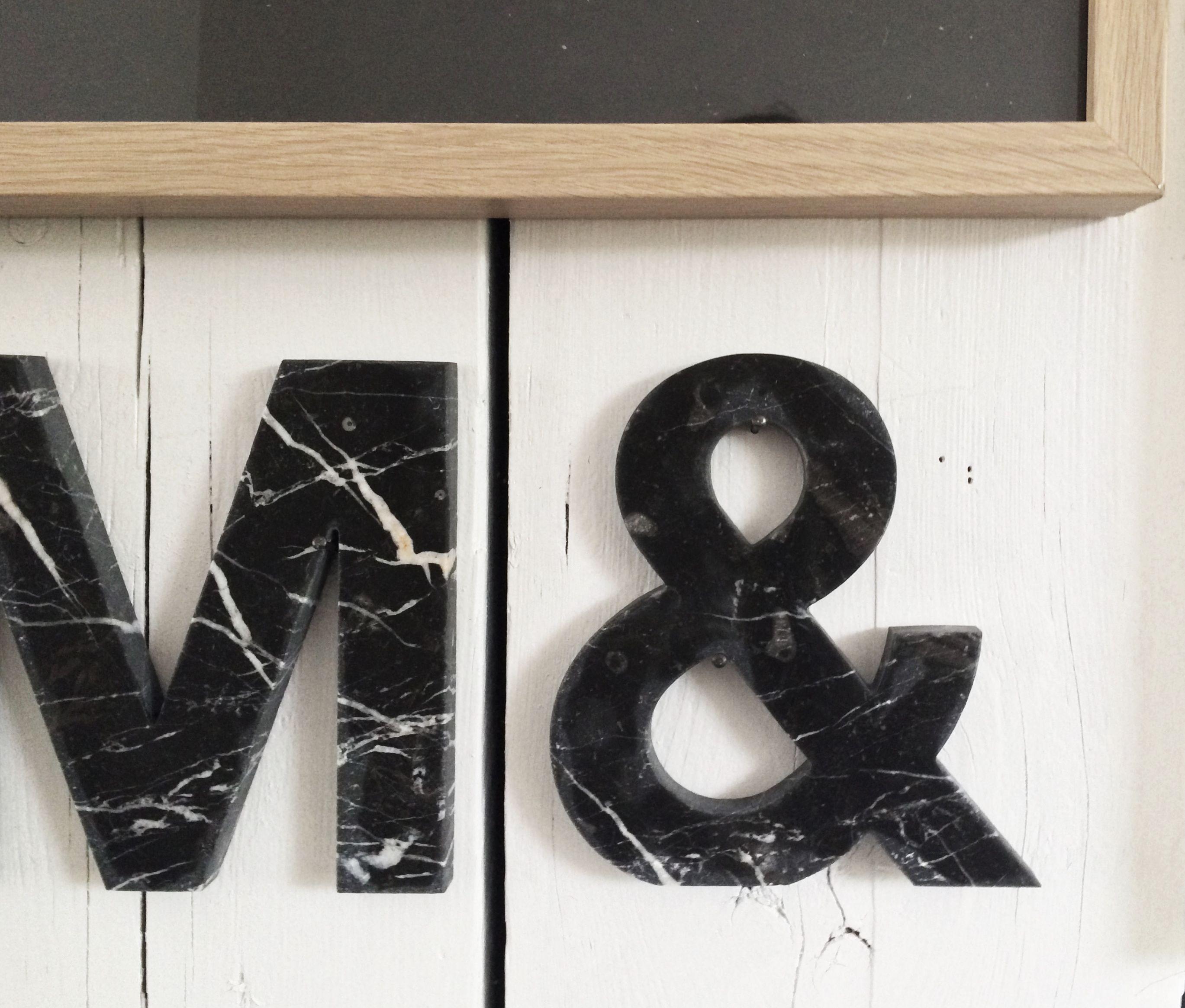 Bestel nu gemakkelijk online LIJNS letters voor je interieur van wit ...