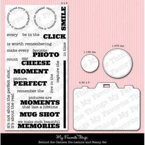 *My Favorite Things BEHIND THE CAMERA Die-Namics & STAMPS MFT