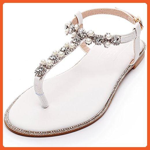e682237dfd17 LUXVEER Beach Wedding Shoes (BE01)-EU39 - Sandals for women ( Amazon Partner -Link)