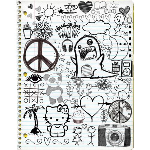I Love The Monster With Images Notebook Doodles Doodle