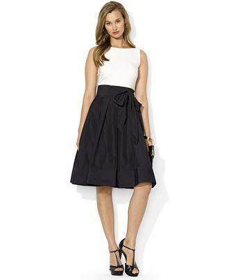 3e72cee5b6fb Semi-formal wedding guest attire - Lauren by Ralph Lauren Dress ...