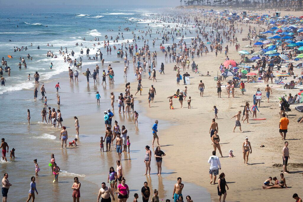 Fox News Los Angeles County Hits 121 Degrees During Oppressive Heatwave A Record In 2020 Los Angeles County Los Angeles Airport Beach Close