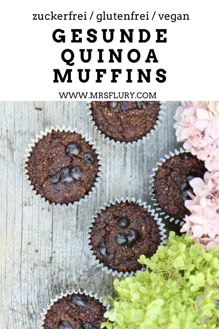Schoko Bananen Quinoa Muffins Kuchen Desserts Susses Pinterest