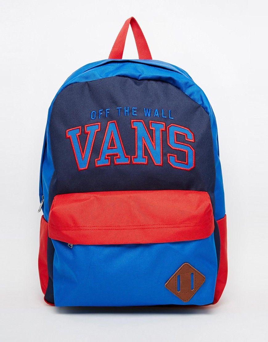 60cb5c2219f5 Vans Old Skool II Logo Backpack