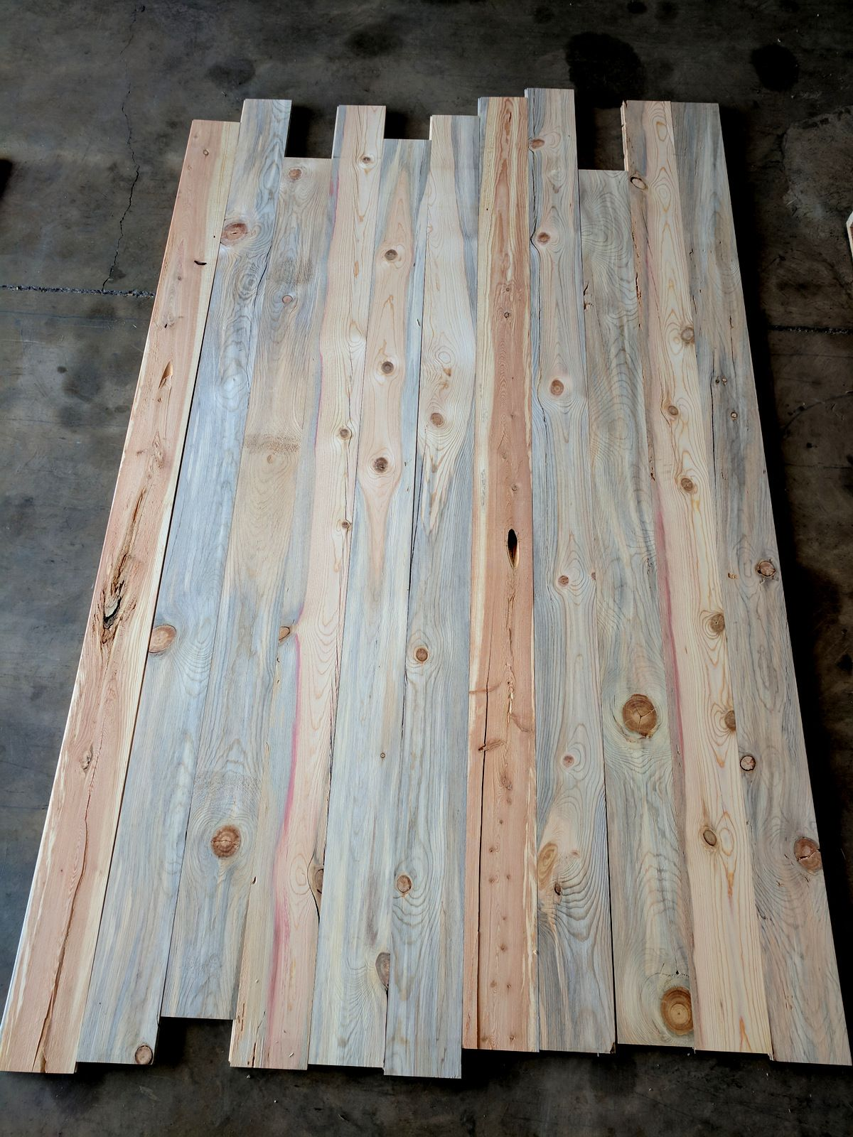 Beetle Kill Pine Special Unfinished 1x6 Cabin Grade Beetle Kill