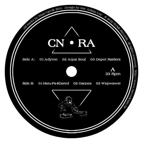 """Il 12"""", disponibile in colore nero e ciano, presenta una tracklist di primo piano, con sei tracce electro dalle occasionali venature IDM."""