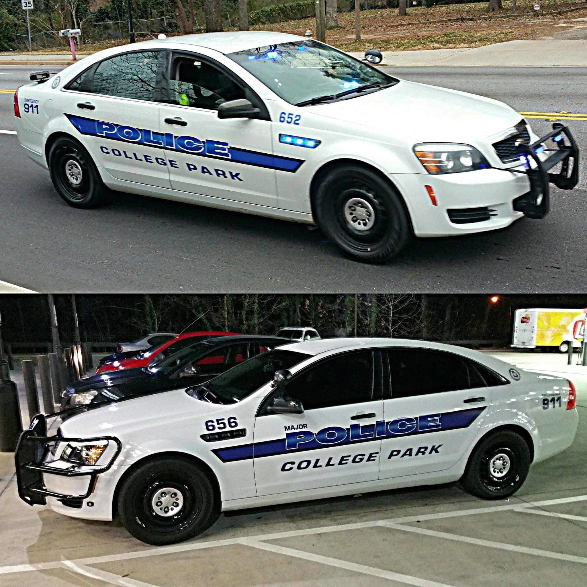 College Park Police Department Georgia New Chevrolet Caprice Patrol Car This