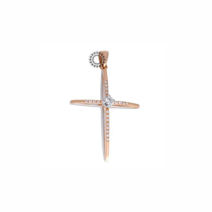 21d0654bd9d Βαπτιστικός σταυρός για κορίτσι με διαμάντια, 2019 | Κορίτσι ...