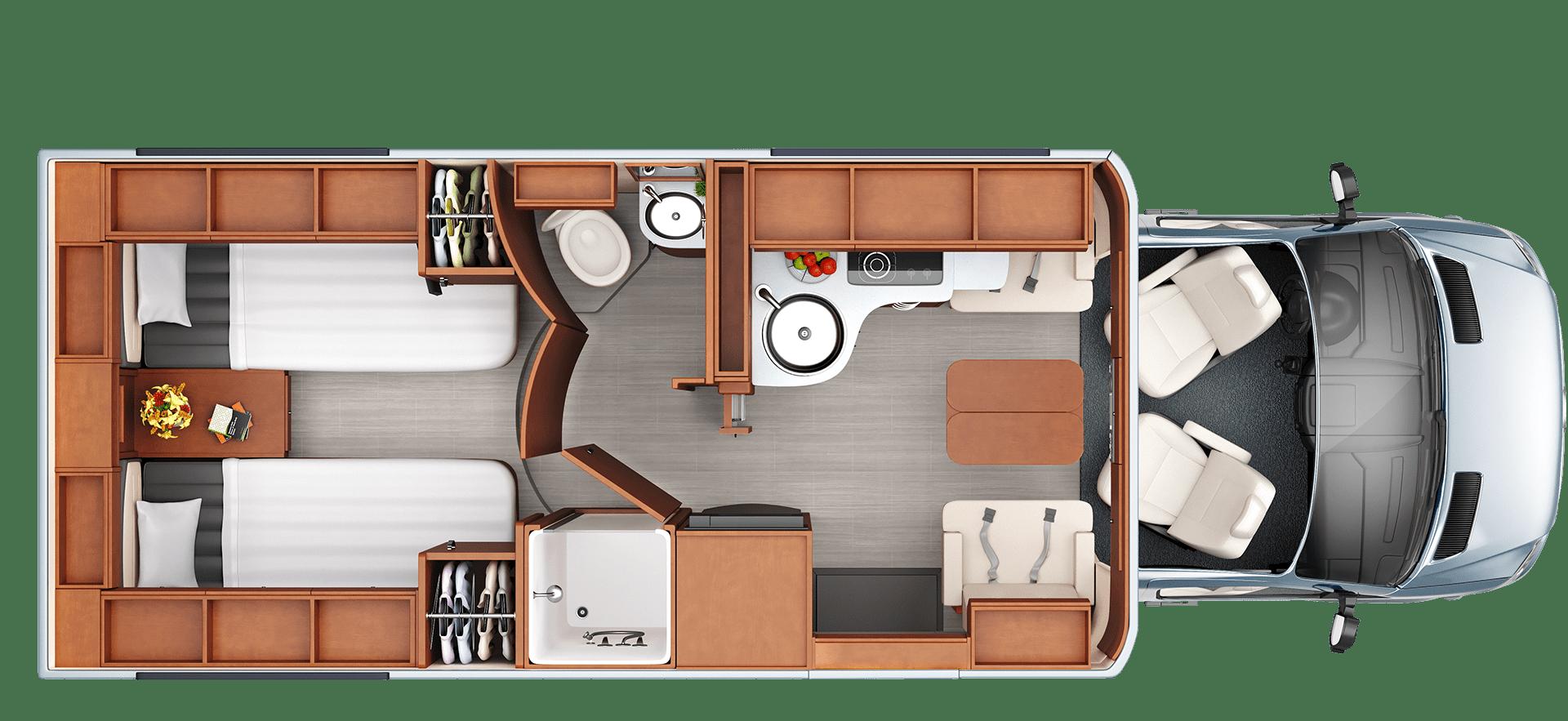 Photo of Unity – Floorplans – Leisure Travel Vans #Floorplans #Leisure #Travel #Unity #va…