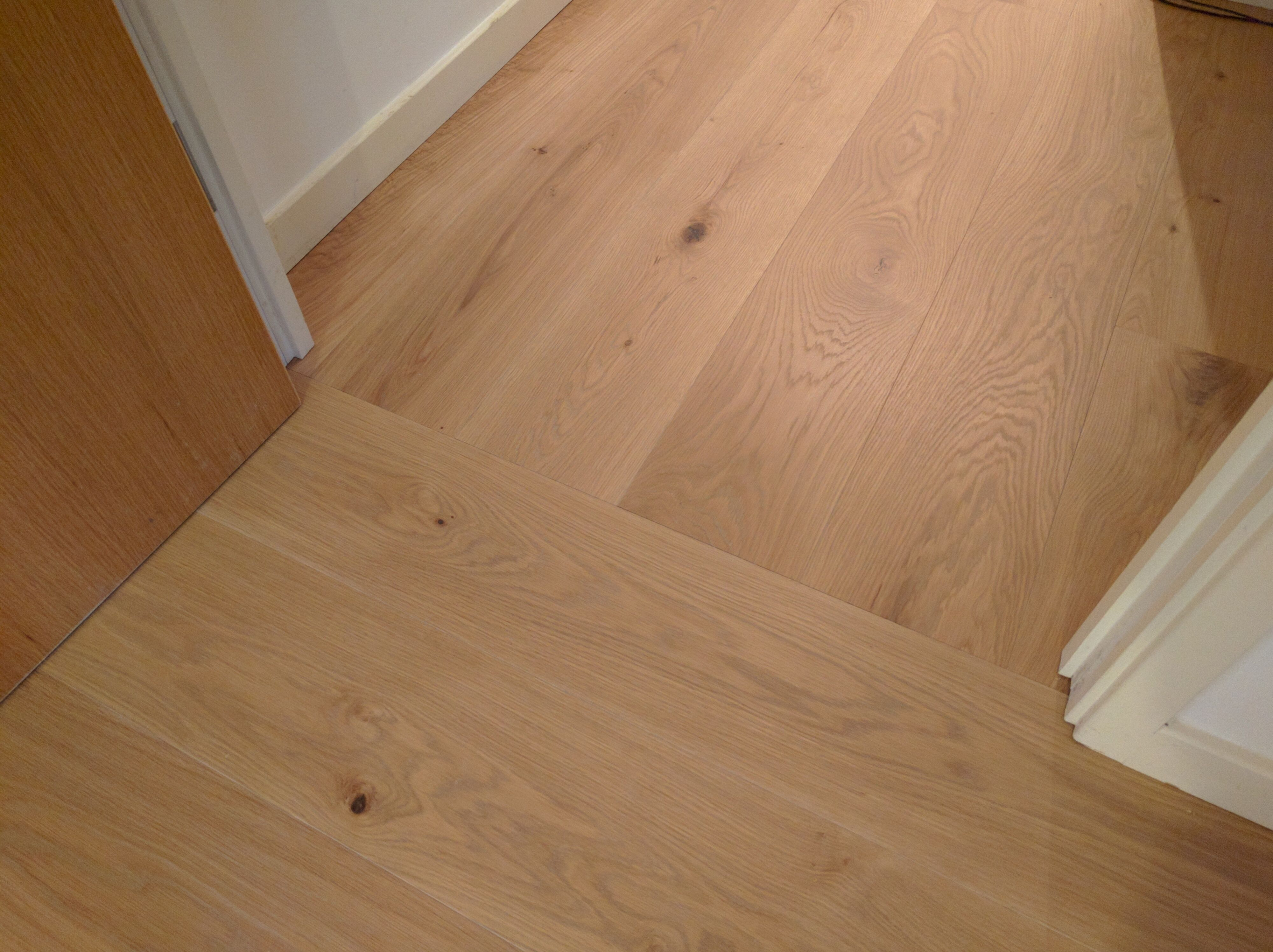 If You Have Wood Flooring In The Hall Leading On To Other Rooms