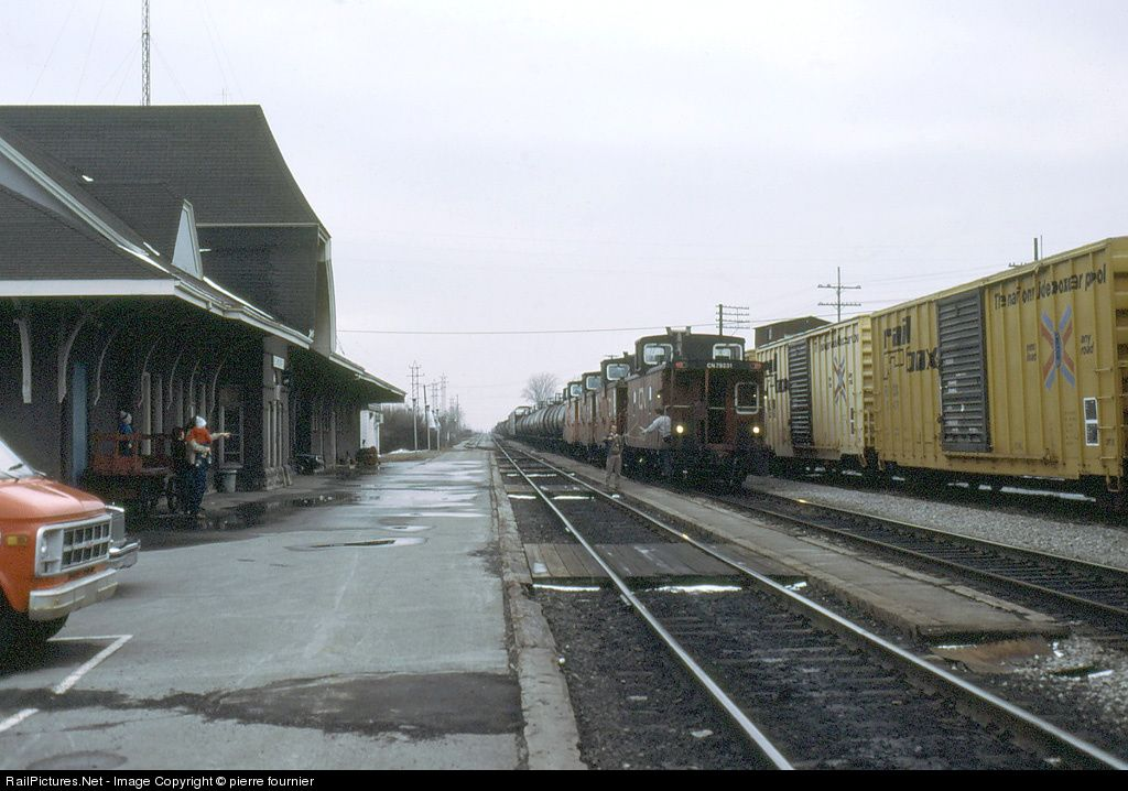 2101 Canadian National Railway MLW HR616 at StHyacinthe