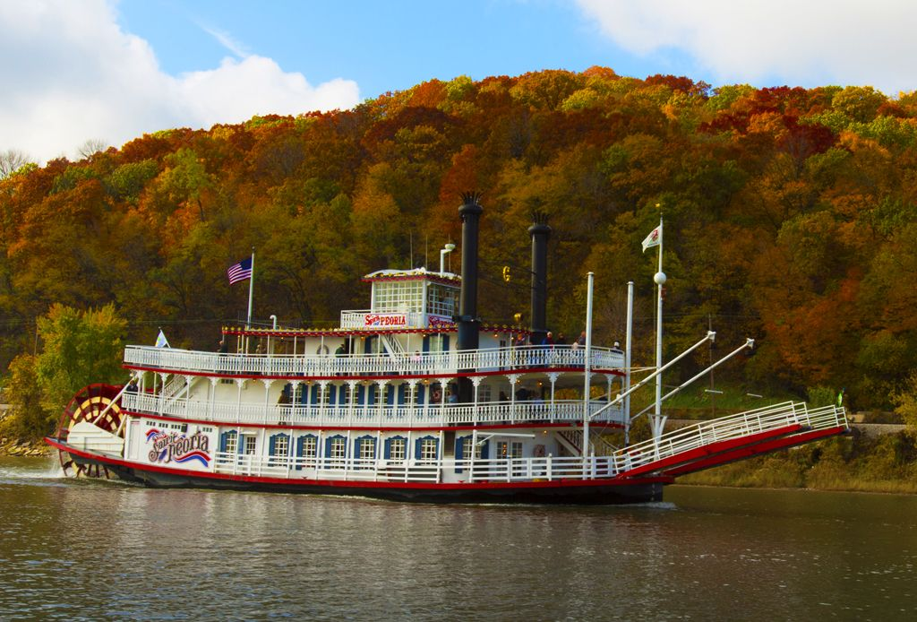 Enjoyillinois Com Spirit Of Peoria Peoria Enjoy Illinois River Boat