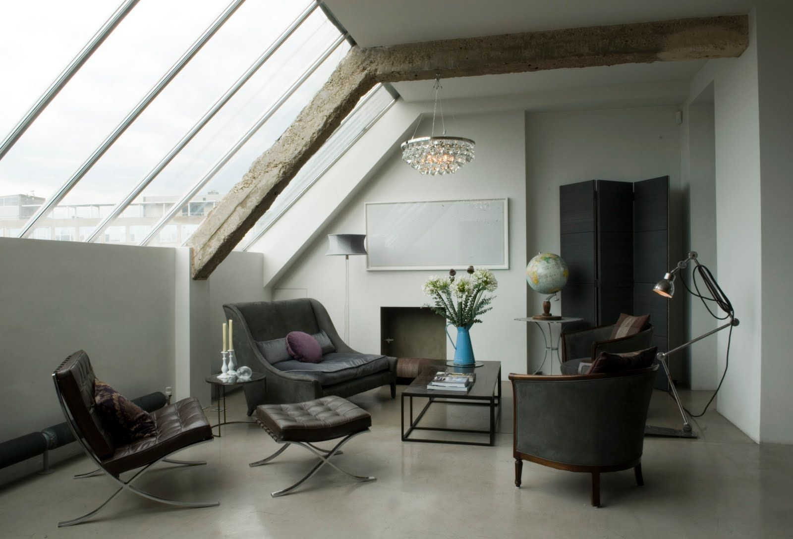 Stunning industrial london loft french furniture east london and