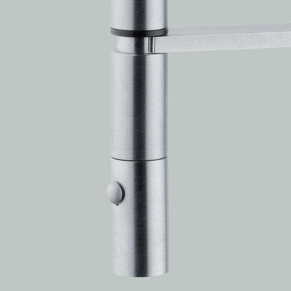 Nuevo grifo mezclador de cocina de #quadro, 399 en acero inoxidable ...