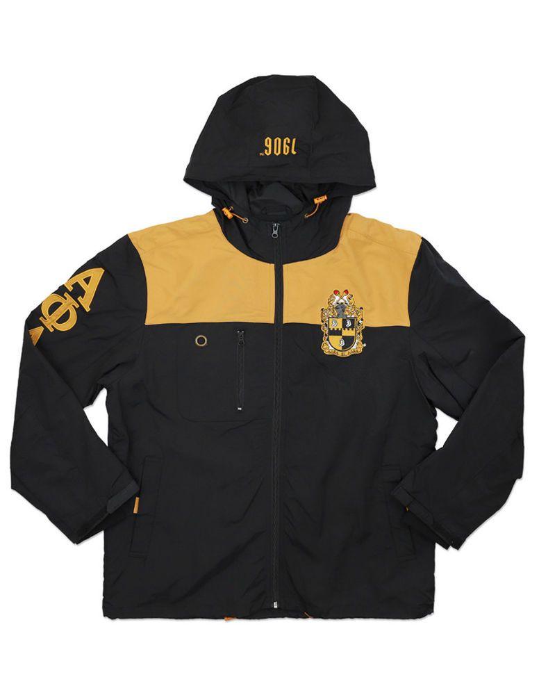 Alpha Phi Alpha Fraternity Windbreaker jacket Manley Deeds All weather  Jacket 71329ec8c