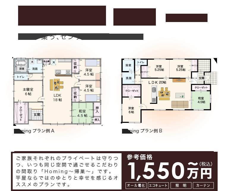 平屋30坪プラン間取り Homing ホーミング 間取り 間取り 30坪 平屋 間取り 40坪