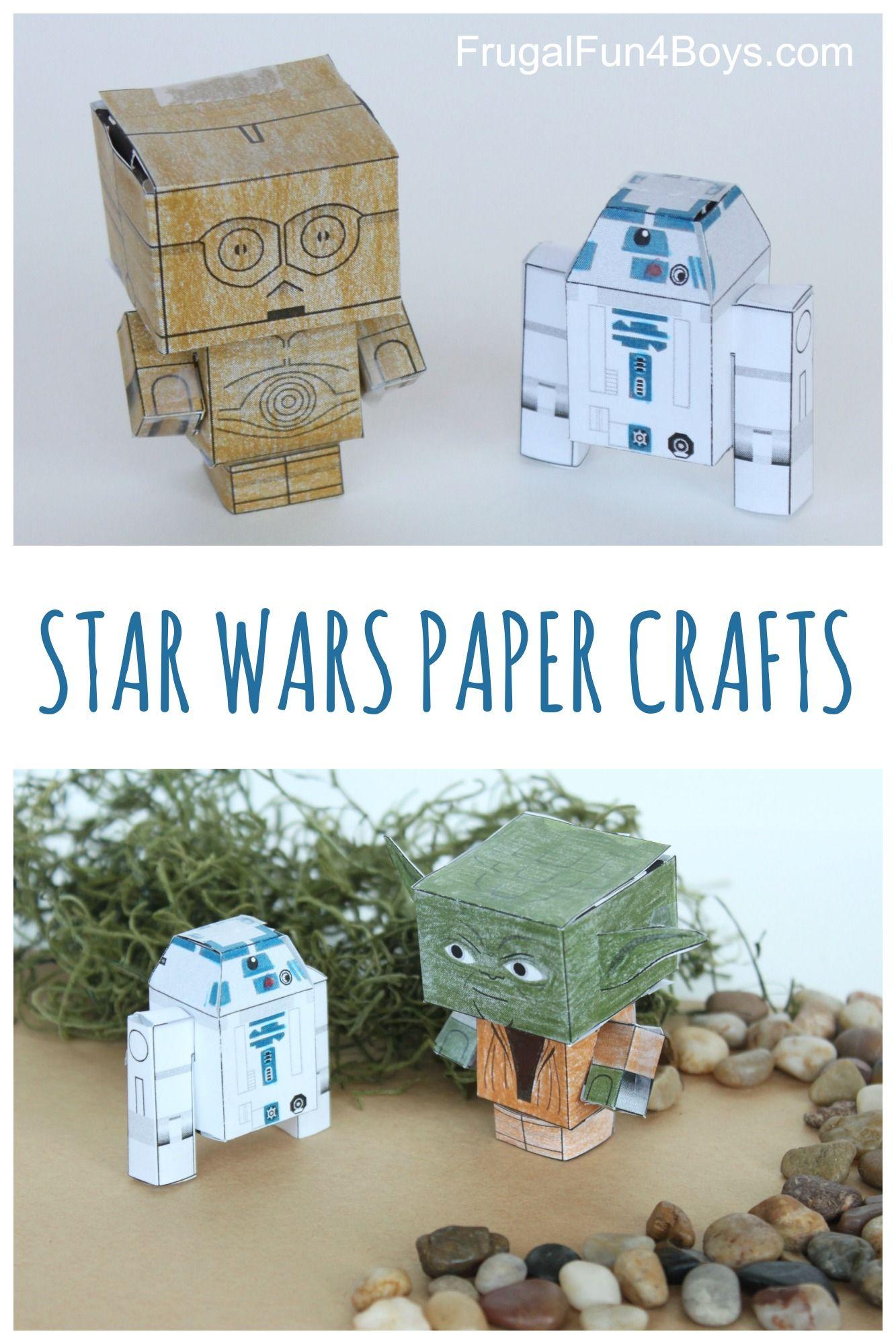 20+ Star wars paper crafts printables information