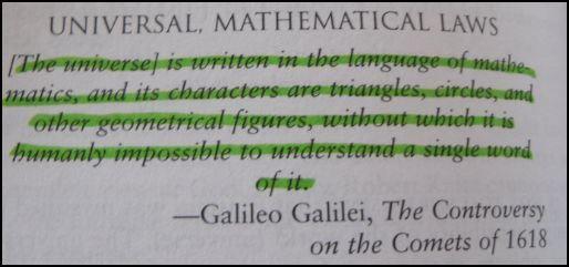 Galileo math quote