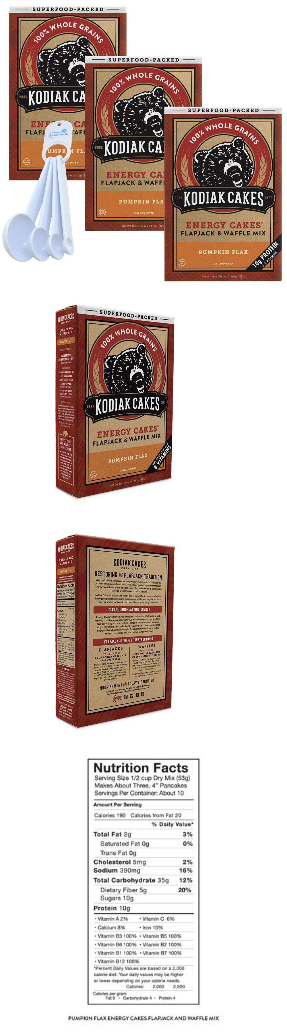 Baking mixes 62695 kodiak cakes pumpkin flax pancake and
