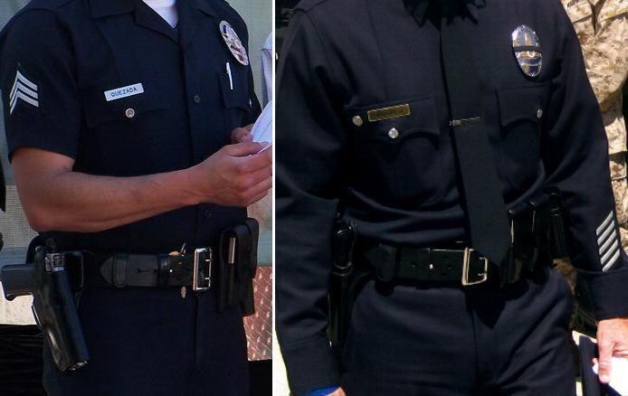 Los Angeles Police Dept  Sam Browne Belt & Uniform   Law