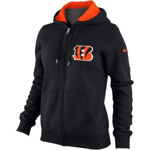 Nike Cincinnati Bengals NFL Tailgater Women's Full-Zip Hoodie