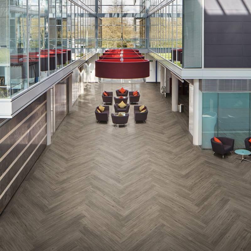 office flooring ideas. Karndean LooseLay Longboard | Easy Fit LVT Flooring Range Office Ideas Pinterest