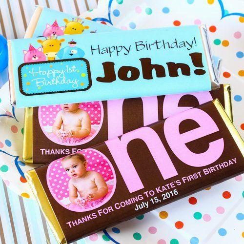 Personalized Birthday Chocolate Bars 1st Birthday Hersheya S Chocolate Bars 1st Birthday Hers Birthday Chocolate Bar Hershey Chocolate Bar Hershey Chocolate
