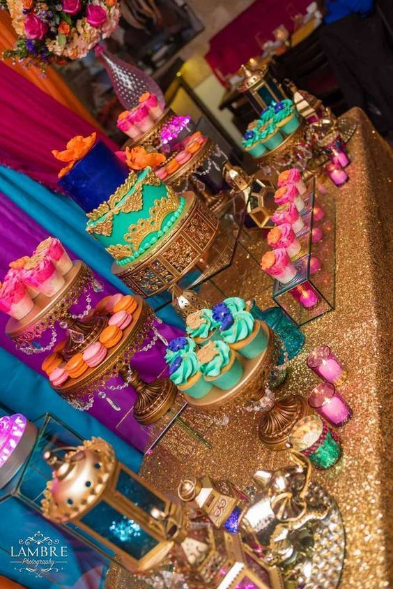 Moroccan Birthday Party Ideas | Photo 1 of 53 #decoration ideas party events indian