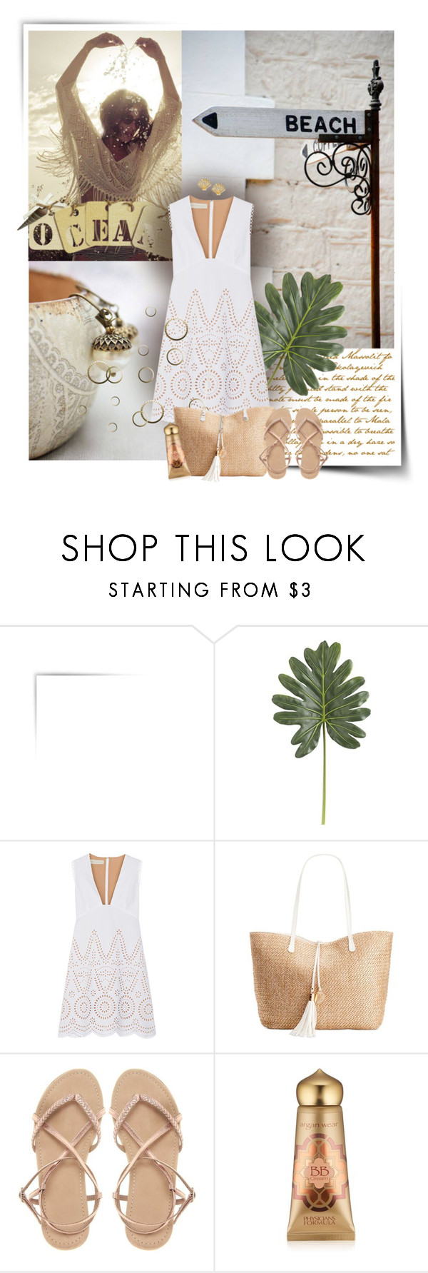 """""""Ocean"""" by anna-survillo ❤ liked on Polyvore featuring Pier 1 Imports, STELLA McCARTNEY, INC International Concepts, ASOS, Physicians Formula, Kate Spade and StellaMcCartney"""
