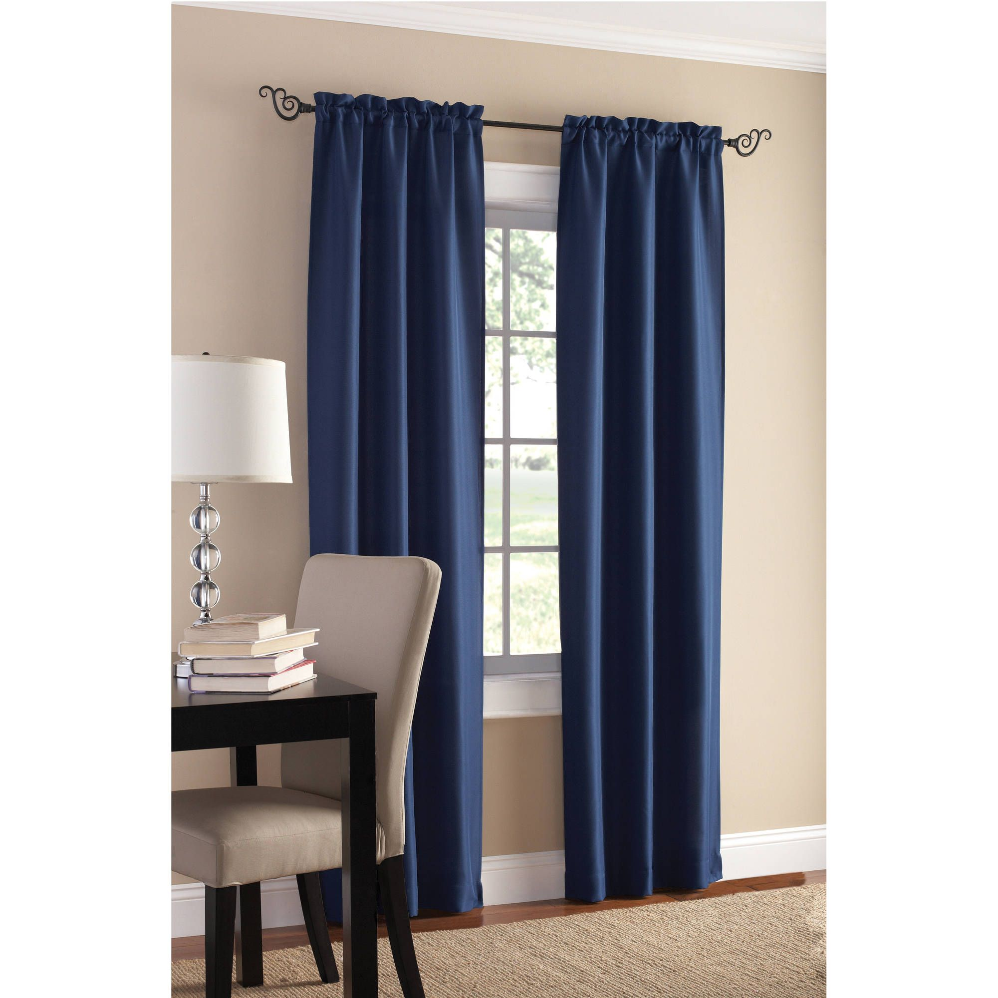 Living Room Curtain Ideas Black Furniture In 2020 Panel Curtains