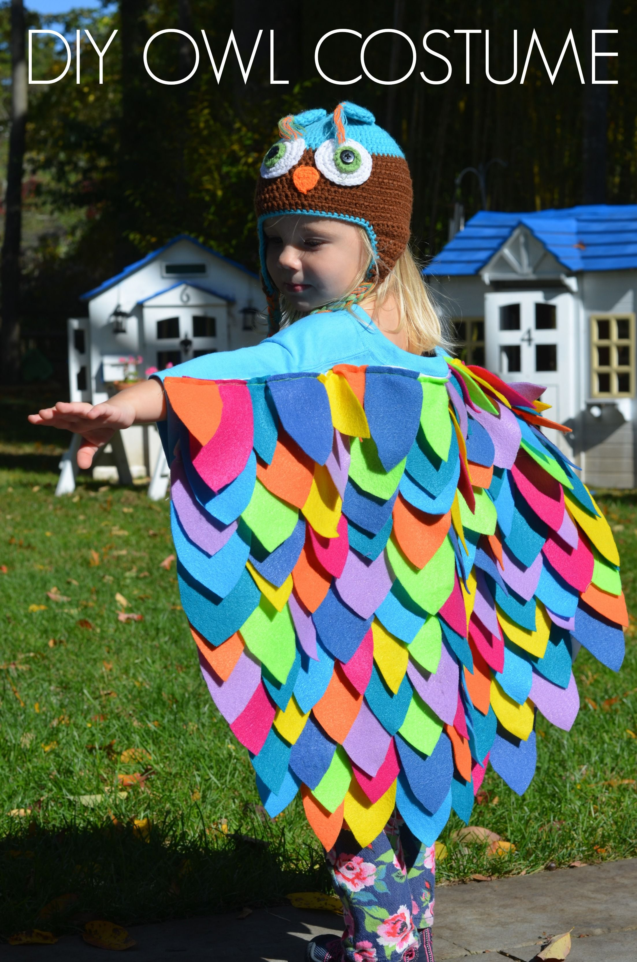 Holiday special occasion diy ideas pinterest owl costumes diy owl costume simple solutioingenieria Image collections