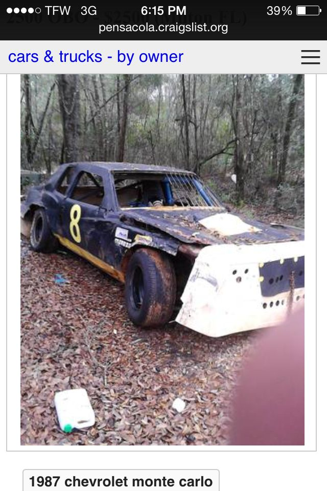 Thinking of buying this street stock/pure stock car for 2014 or 2015 ...