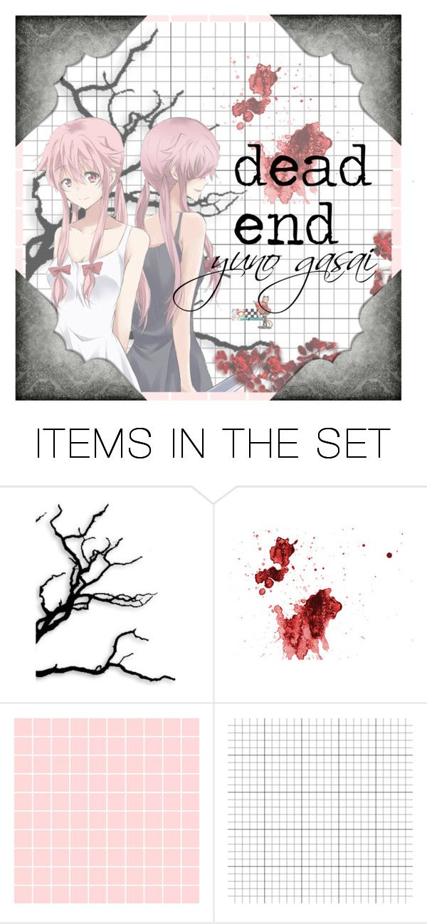"""future diary"" by clea69 ❤ liked on Polyvore featuring art, anime, futurediary and yunogasai"