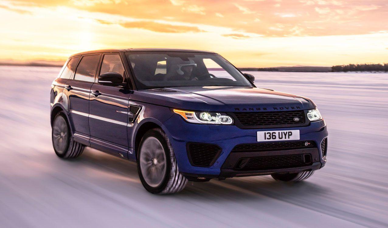 2017 Range Rover Sport SVR Gripping Acceleration http