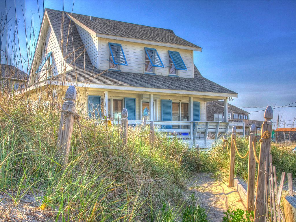 outer hatteras rentals obx banks on pin cottages beaches island vacation nc