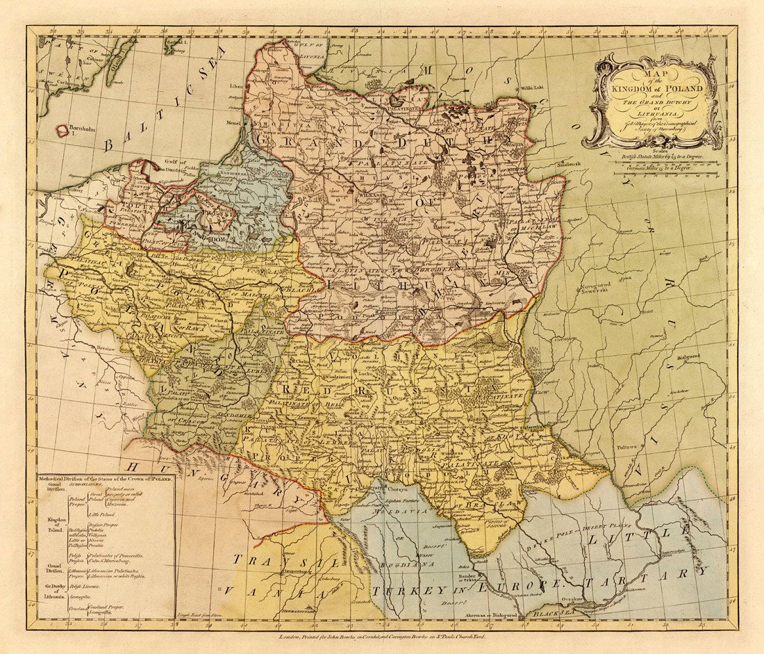 Map of Poland - Old map restored - Poland map fine print for wall ...