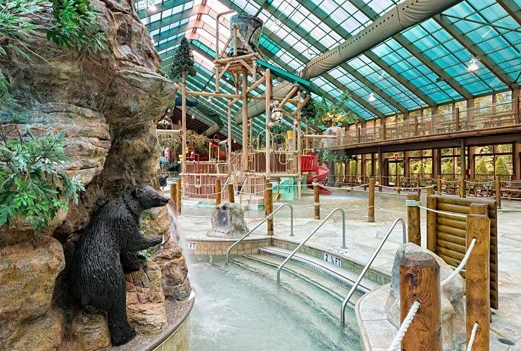 Wild indoor water park gatlinburg wg smoky mountains for About you salon gatlinburg tn