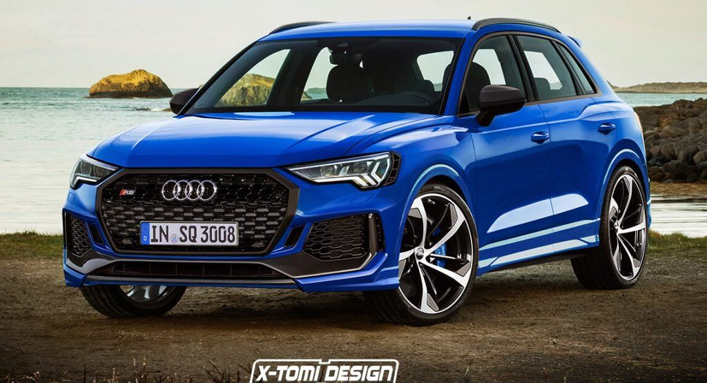 New Audi Rs Q3 Rendering Looks Pretty Convincing Wouldnt You Say Audi Q3 Audi Rs Audi Rsq3