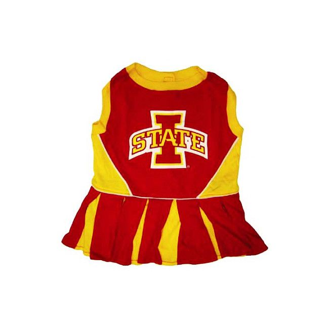 Pets First Iowa State Cyclone Cheer Leading Outfit SM