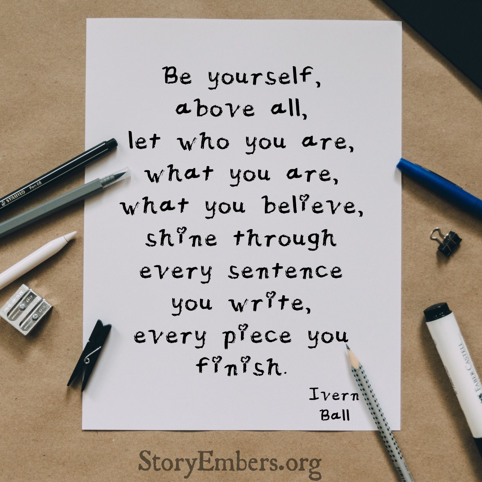 Be Yourself  Writing quotes, Writing, Writing advice