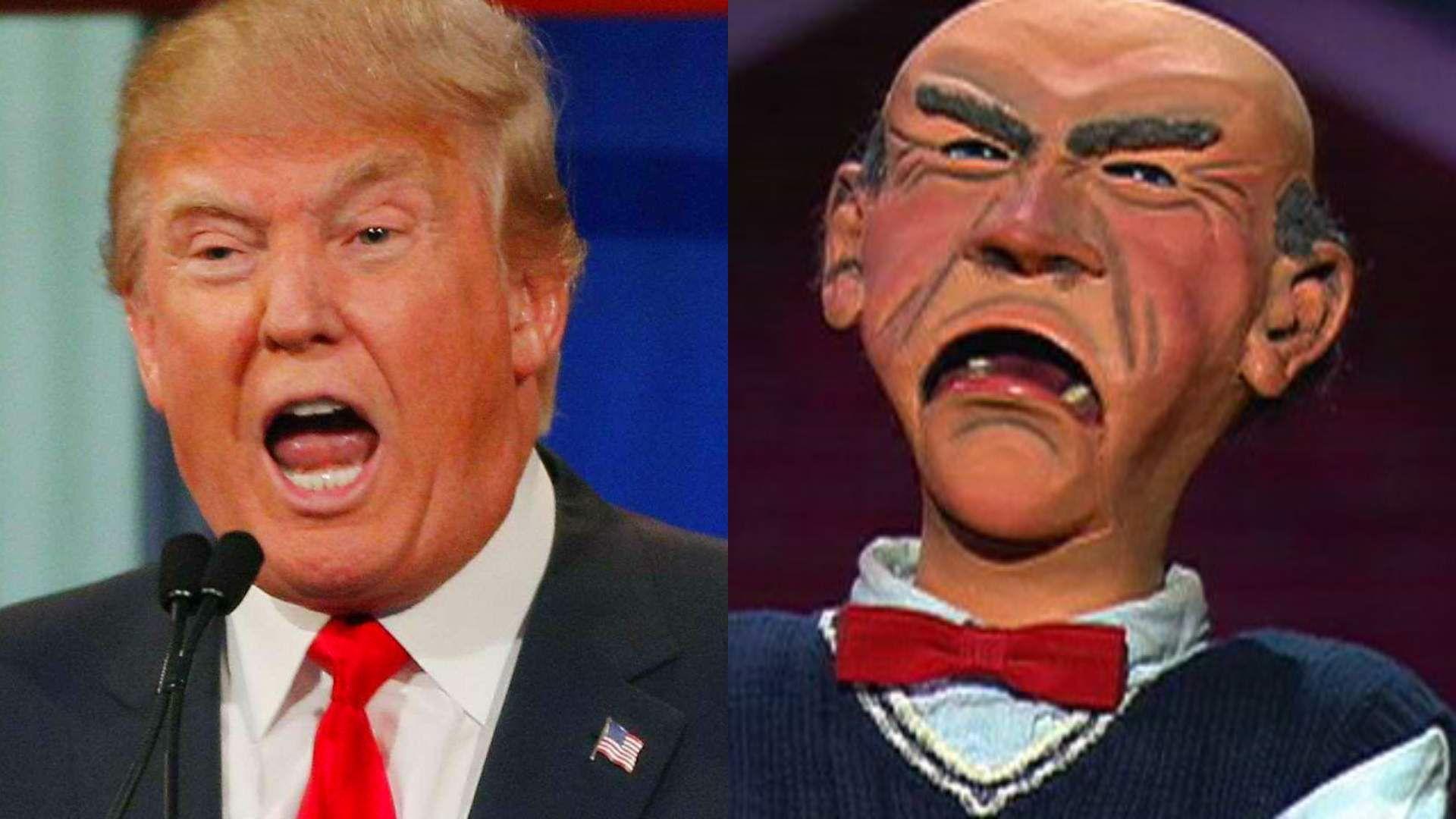 Jeff Dunham Walter Trump