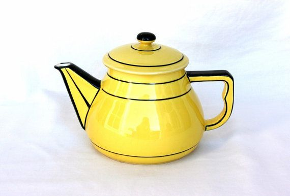 Art Deco teapot antique