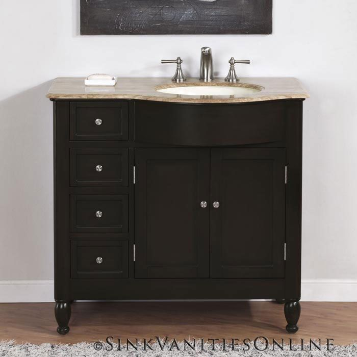 Curved Vanity Side Drawers With Images Under Bathroom Sink