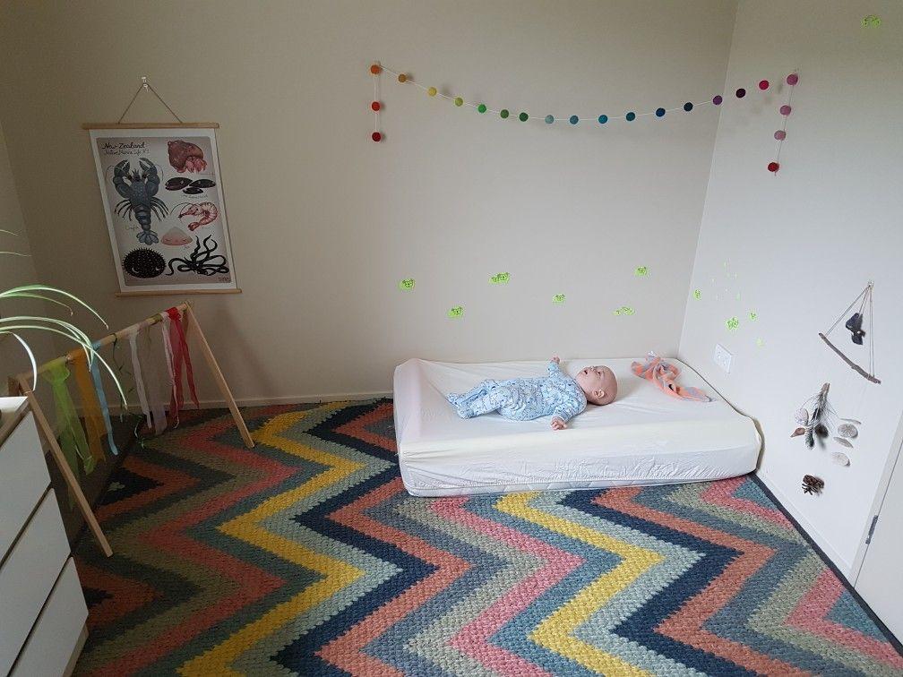 Montessori floor bed. Great alternative to crib/cot